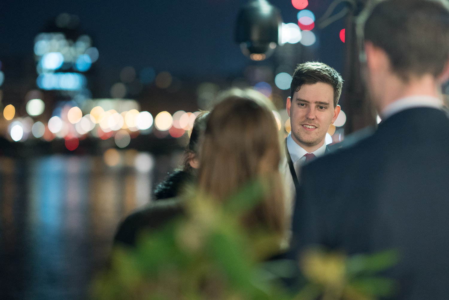 Brief: Photographs of a drinks reception by the River Thames. Venue: House of Lords.