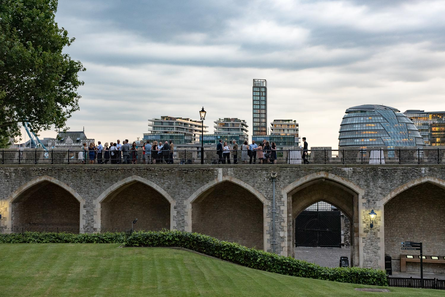 Brief: Company anniversary party at the Tower of London.